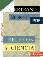 Bertrand Russell - Religión y Ciencia Filósofo