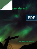 Poemas de Rol - Matthijs Holter