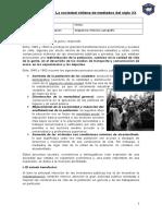 Sociedad Chilena en El Siglo XX