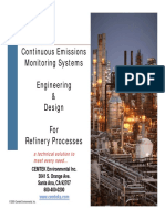 CEMS Engineering Design for Refinery Processes - Tim Kuiken