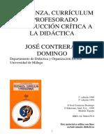 CONTRERAS Domingo - Ensenanza curriculum y profesorado.pdf