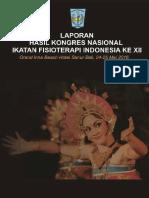 Hasil Kongres Nasional Xii Ikatan Fisioterapi Indonesia Tahun 2016