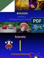 Clase 1. Introduccion a La Biologia