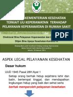 KEBIJAKAN MENKES TERKAIT UU KEP TERHADAP PELAYANAN KEP DI RUMAH SAKIT.pdf
