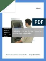 Windows XP El Riesgo Para Los Cajeros Automaticos