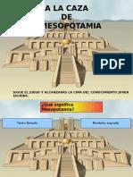 Juego a La Caza de Mesopotamia - Responder