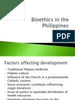 HI 271 - 02 - Bioethics in the Philippines