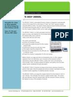 3000xl Product Sheet