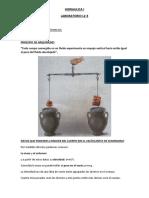 laboratorio VOLUMEN DE UNA PIEDRA Y DENSIDAD RELATIVA