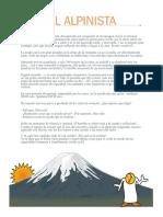 Mensaje El Alpinista