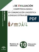 Guia Evaluacion Comunicacion Linguistica Lenguas Extranjeras Primaria