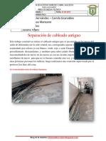 Separación de cableado antiguo
