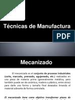 Tecnicas de Manufacturas
