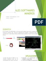 Principales Softwares Mineros - Victor Tintaya