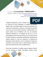 Creacion de Un Personaje- Stanislavsky