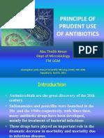 Plenary 2. Prinsip Penggunaan Antibiotik Secara Bijak. PDF