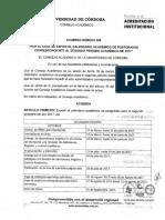 CALENDARIO ACADEMICO UNICOR