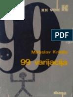 Miroslav Krleza - 99 varijacija.pdf