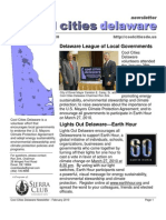 February 2010 Cool Cities Deleware Newsletter