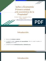 Primera Unidad - Teoría Económica de La Propiedad