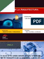 Hielo en La Arquitectura