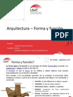 Arquitectura Forma y Función