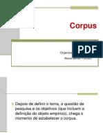 Corpus de Pesquisa