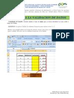 4-1-Validacion de Datos en Excel
