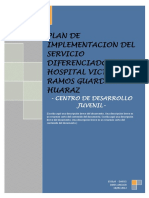 Plan de Implementacion de Servicio Diferenciado Vrg-hz