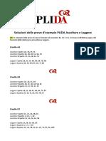 Soluzioni PLIDA sito