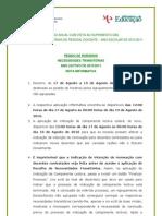 NOTA INFORMATIVA_ Horários_2010