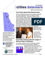 May 2010 Cool Cities Deleware Newsletter