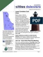 June 2010 Cool Cities Deleware Newsletter