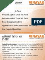 Asphalt Drum Mix Plant - Best for Road Construction