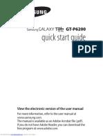 Galaxy Tab Gtp6200