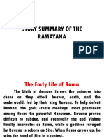 Story Summary of the Ramayana