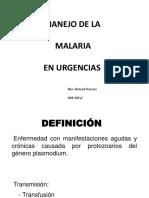 malaria en urgencias.pptx