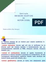 propulsori termini Rumore Combustione Diesel