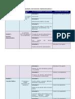 Calendario Derecho Administrativo 1