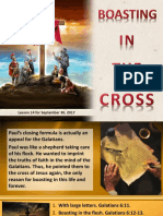 3rd Quarter 2017 Lesson 14 Boasting in the Cross