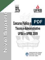 Ufba Prova Conhecimentos Gerais 2009