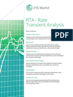 RTA(Rate Transient Analysis) Fact Sheet