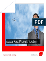 Fares and Pricing