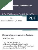 04 Pemrograman Dasar Java
