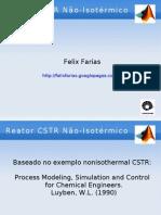 Matlab Nonisothermalcstr