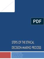 Ethical Decision Making Framework