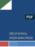 Ethical Decision Making Framework