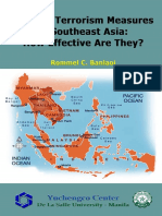 Counter Terrorism Measures in Southeast Asia