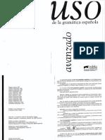 Uso de la gramatica espanola. Avanzado.pdf