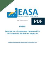 EASA Aviation Inspector Competencies Report